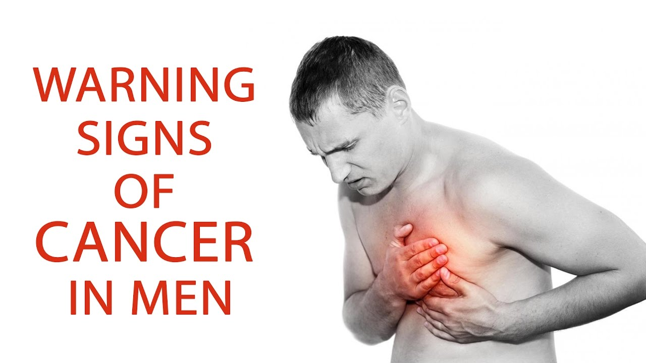 warning signs of cancer in men cancer in men symptoms causes treatments health tips youtube. Black Bedroom Furniture Sets. Home Design Ideas