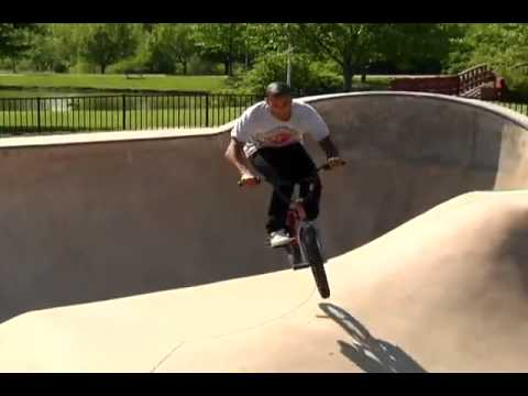 Jared Washington federal BMX frame promo