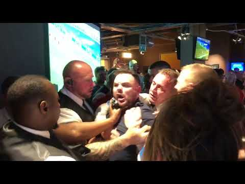 Dana Whites crew threaten by drunk Liverpool fan before UFC Liverpool