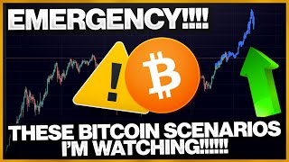 EMERGENCY!!!! EVERY BITCOIN TRADER SHOULD WATCH THESE SCENARIOS!!!!!!!!! (Important Bitcoin Update)