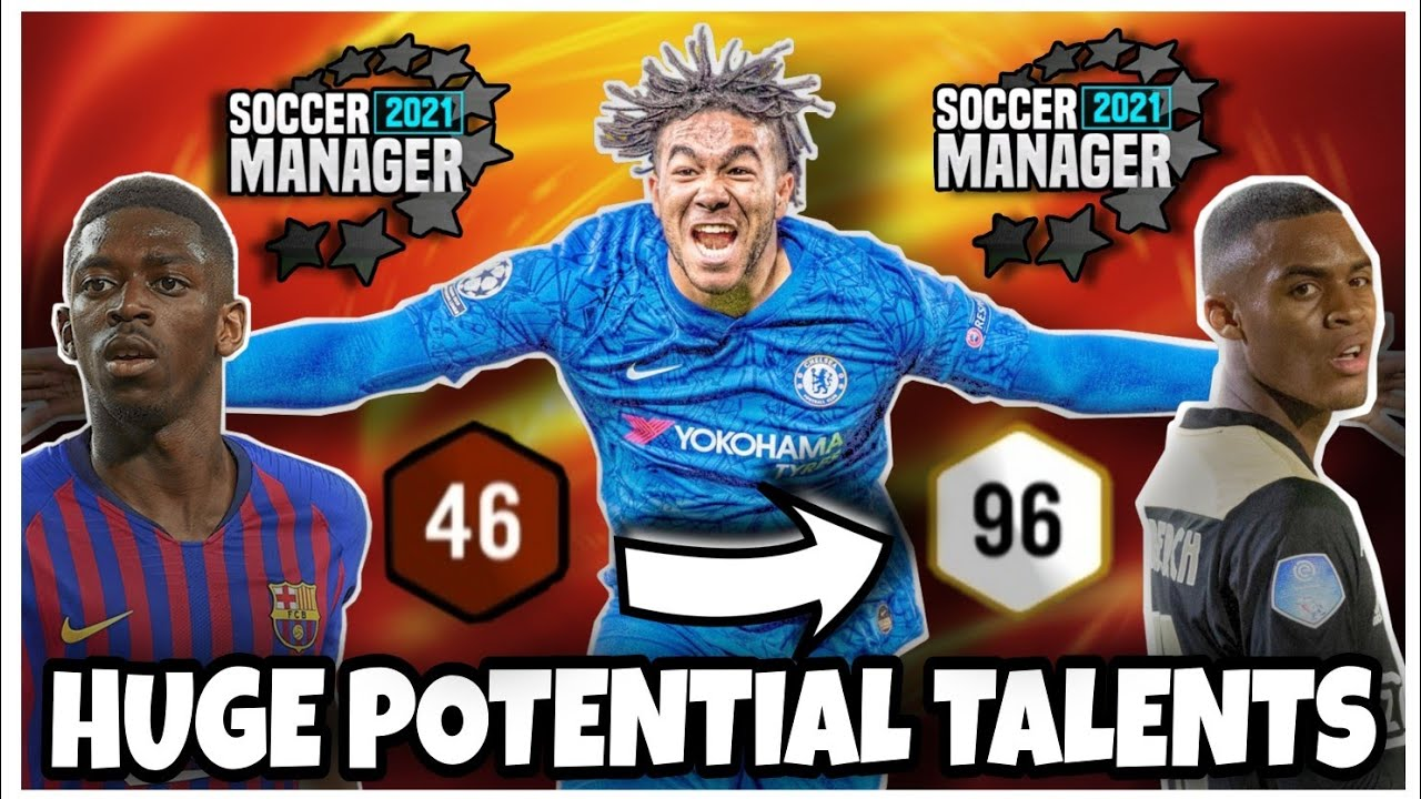 BEST YOUNG PLAYERS and FUTURE RATINGS on SM21 #2 🔥 Potentials of Young Talents ¦ Soccer Manager 21