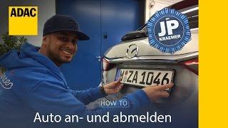 ADAC How To Auto an-  und abmelden mit Jean Pierre Kraemer I Folge 33