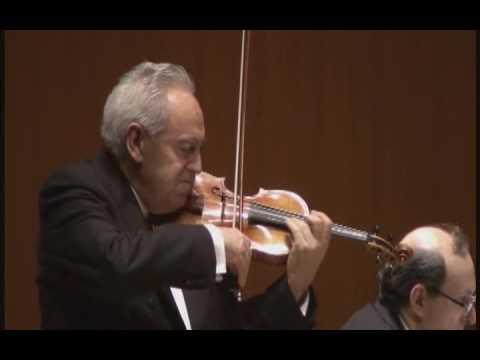 FELIX AYO  violin   MARCO GRISANTI piano - M de FALLA 7 Canciones populares españolas: n.5 Nana