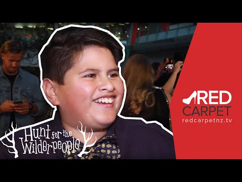 The Hunt for the Wilderpeople premiere - Interview with Julian Dennison