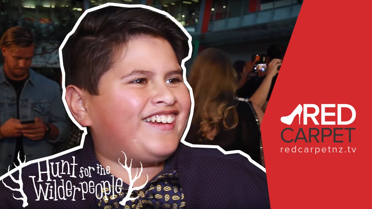 the hunt for the wilderpeople premiere interview with julian