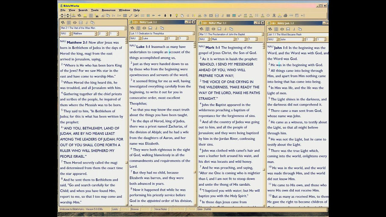 Essays on the synoptic gospels essay on senses