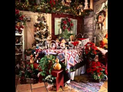 Cool Country christmas decorating ideas - YouTube