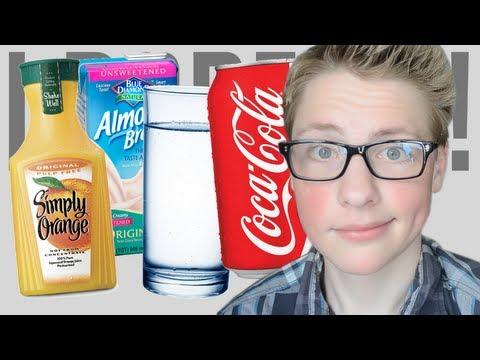 Coca Cola, Milk, Water, Orange Juice - I Dare Ya!