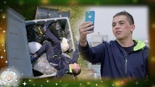 La Rosa de Guadalupe: Román se accidenta por impresionar a Steff   El reto de la amistad