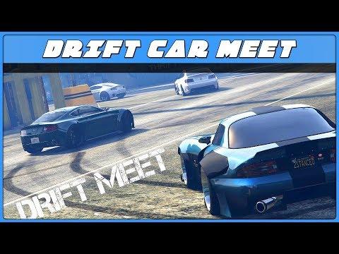 GTA 5 Online DRIFT Meet!