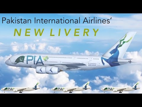 PAKISTAN INTERNATIONAL AIRLINES' NEW LIVERY: Good or Bad?