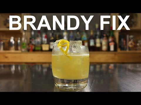 Brandy Fix Cocktail Recipe - Harry Johnson's Bartender's Manual