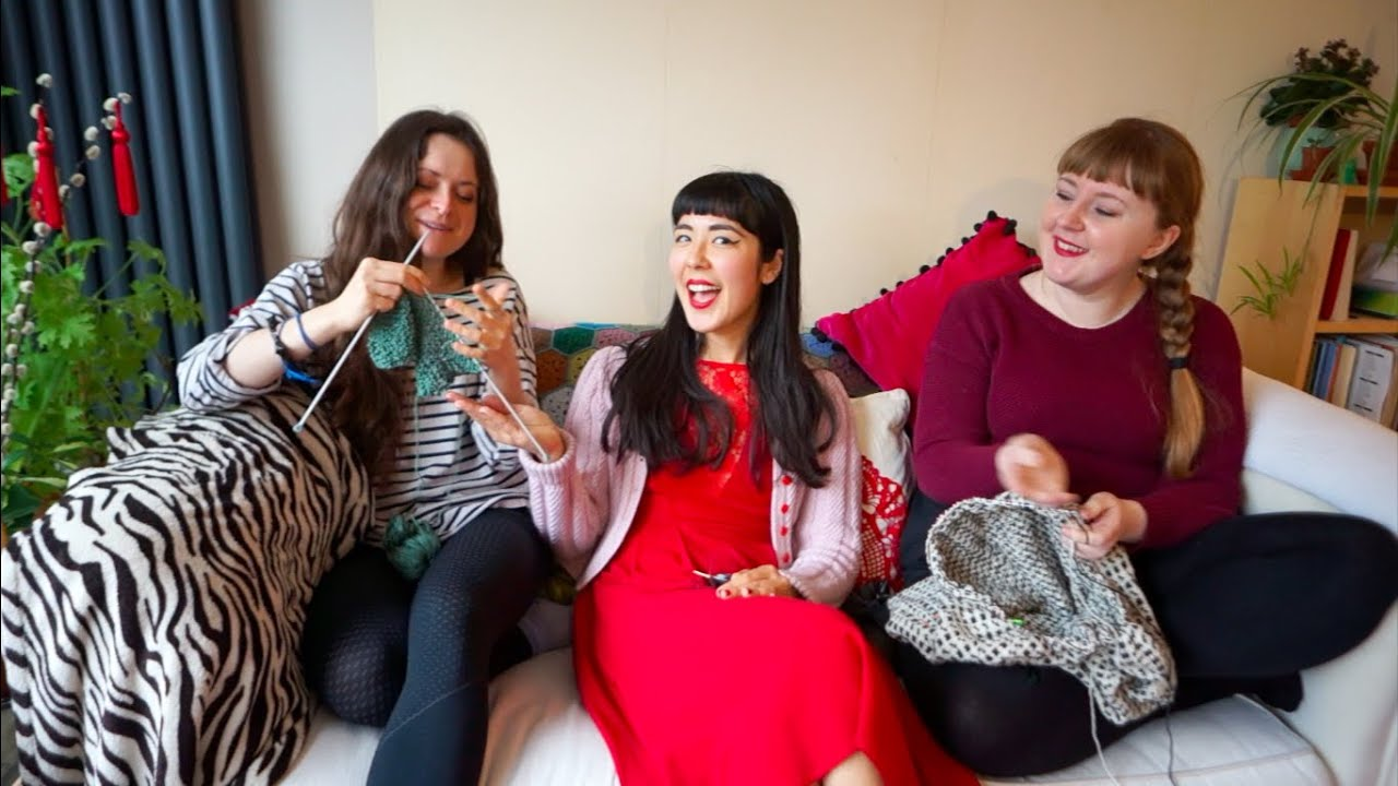 The Crimson Stitchery x3: International Women's Day