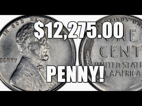 $12,275 00 Penny! Rare & Valuable 1943 D Boldly Doubled Mintmark Steel Cent