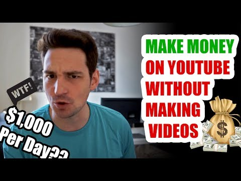 Make Money On Youtube Without Making Videos | $1,000 Per Day Tutorial