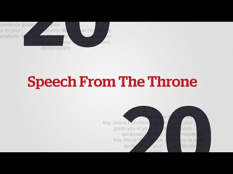 CBC News: Throne Speech Special