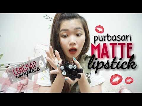 review-and-swatches-purbasari-lipstick---lengkap-+-giveaway---katherin-[-bahasa-indonesia-]