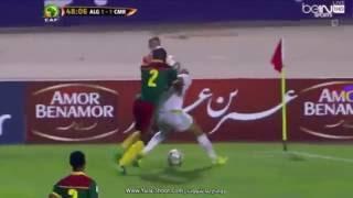 مبارات المنخب الجزائري & المنتخب الكاميرون الشوط الثاني 9 اكتوبر 2016