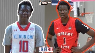 7'2 BOL BOL will be the STEAL of the 2019 NBA DRAFT! HIGH SCHOOL MIXTAPE!