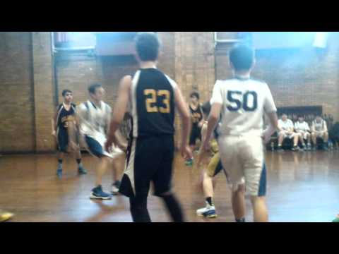 CYO Basketball Our Lady of Hope vs OLMM 1/30/16