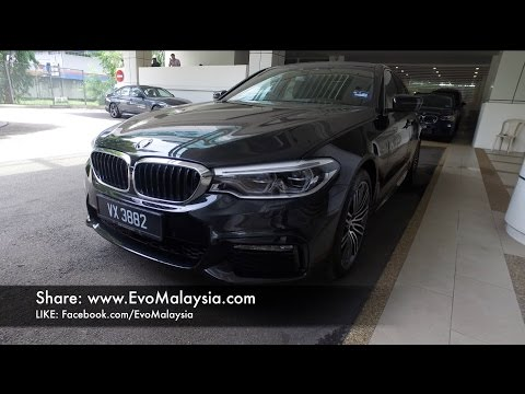 2017 BMW 530i M-Sport (G30) Full In-Depth Review In Evo Malaysia