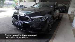 2017 BMW 530i Series M-Sport (G30) Full In-Depth Review In Evo Malaysia