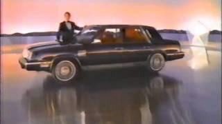 1983 Chrysler New Yorker commercial with Ricardo Montalban