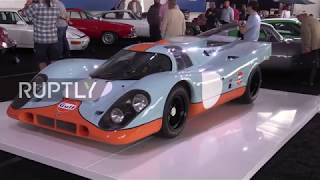USA  Retro Porsche 917K used in Steve McQueen film set to fetch mil at auction
