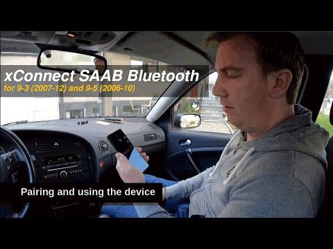How to install Bluetooth on SAAB 9-3 (2007-12) and SAAB 9-5 (2006-12)