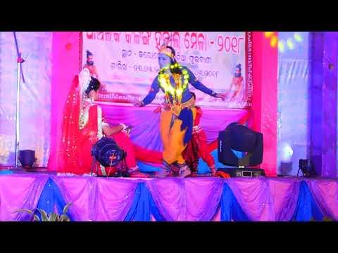 'Go Radhe, Bansi Ti Amara Dia' performed by Anwesha, Nancy, Baibhabi, Vaishnavi.
