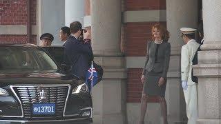 信任状奉呈式の馬車列 アイスランド共和国大使