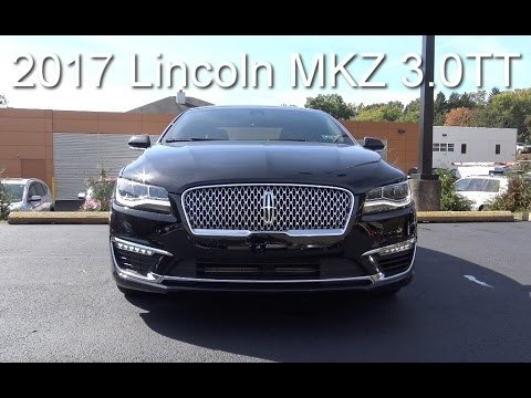 2017 Lincoln MKZ 3.0 TT Review / 400HP and AWD !