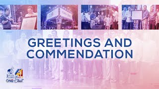 Greetings and Commendation | JIL Church 41st Anniversary