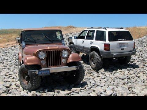 Jeep CJ7 Limited 4x4 on New Goodyear Wrangler Kevlar MT/R Tires Rusty's IRO