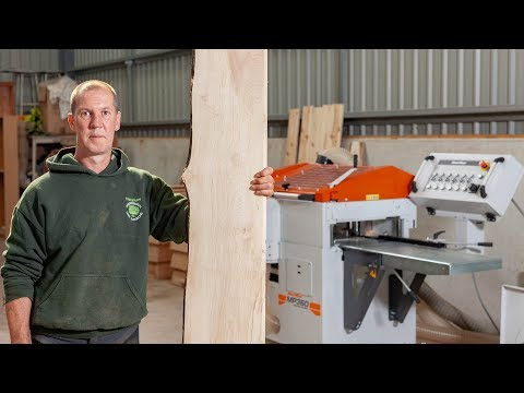 Scottish sawmiller producing unique wood products with the MP360 Planer/Moulder   Wood-Mizer Europe