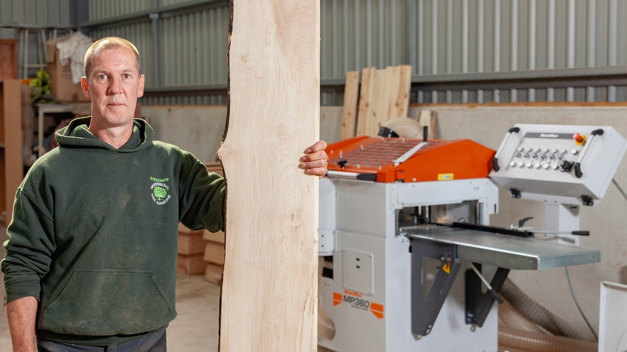 Scottish sawmiller producing unique wood products with the MP360  Planer/Moulder | Wood-Mizer Europe