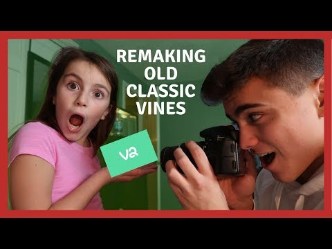 REMAKING CLASSIC VINES IN HONOR OF VINE 2!!