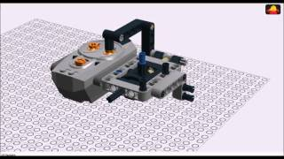 LEGO Technic 6 Functions Joystick Remote Control Building Instructions