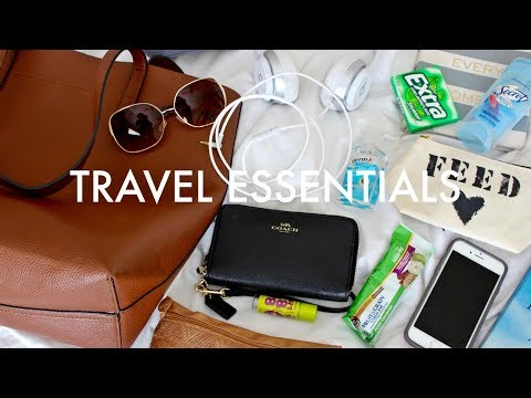What's In My Travel Bag | Travel Essentials + Tips