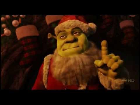 Shrek Christmas.Have A Smelly Christmas From Shrek