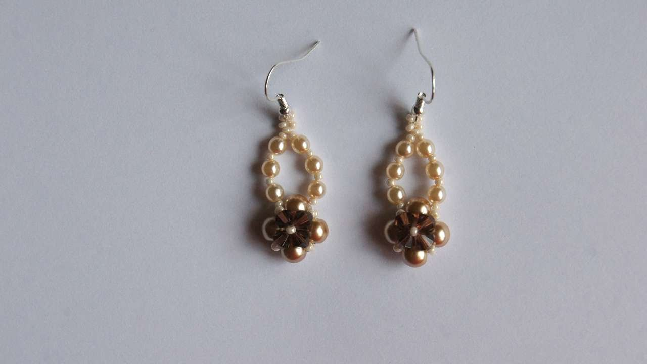 How To Make Lovely Pearl Earrings - DIY Style Tutorial ...