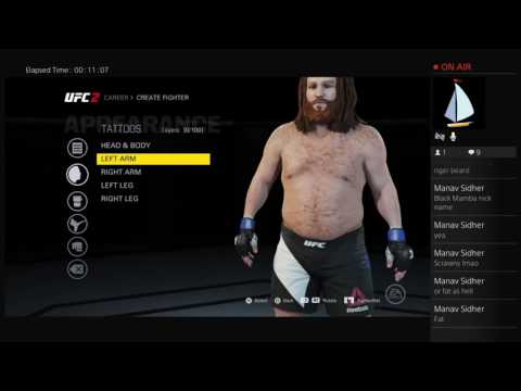 UFC 2 Interactive Career Mode - The Creation - E1
