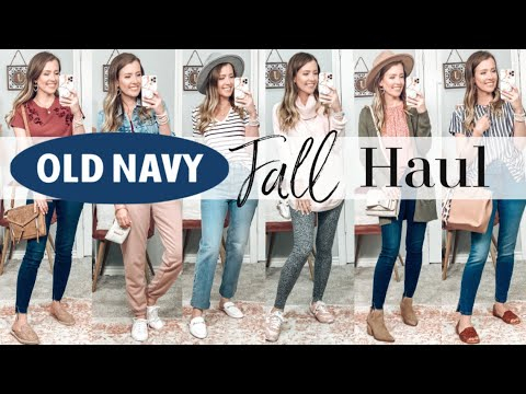 HUGE OLD NAVY FALL TRY-ON HAUL!! **LABOR DAY SALE!**
