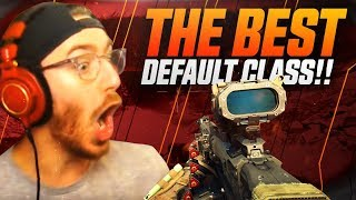 THIS IS THE BEST DEFAULT CLASS!? - Black Ops 4 Gameplay
