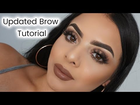 UPDATED BROW TUTORIAL | Drea Makeup