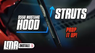 2015-2018 Mustang Ford Performance Hood Strut Kit - Review & Install