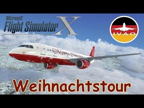 [Weihnachtsstream] FSX | IVAO | Stuttgart - Köln/Bonn - Leipzig | Airbus A320