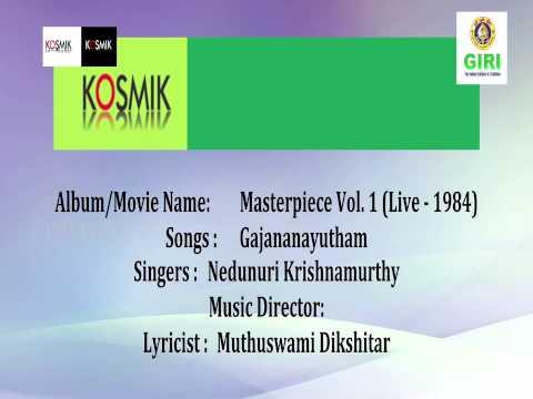 02. Gajananayutham - Masterpiece Vol. 1 (Live 1984) By Nedunuri Krishnamurthy