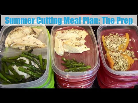 Summer Cutting Meal Plan: The Prep