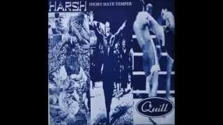 Quill (Japan) - Short Hate Temper / Harsh / Quill (TVG Records)